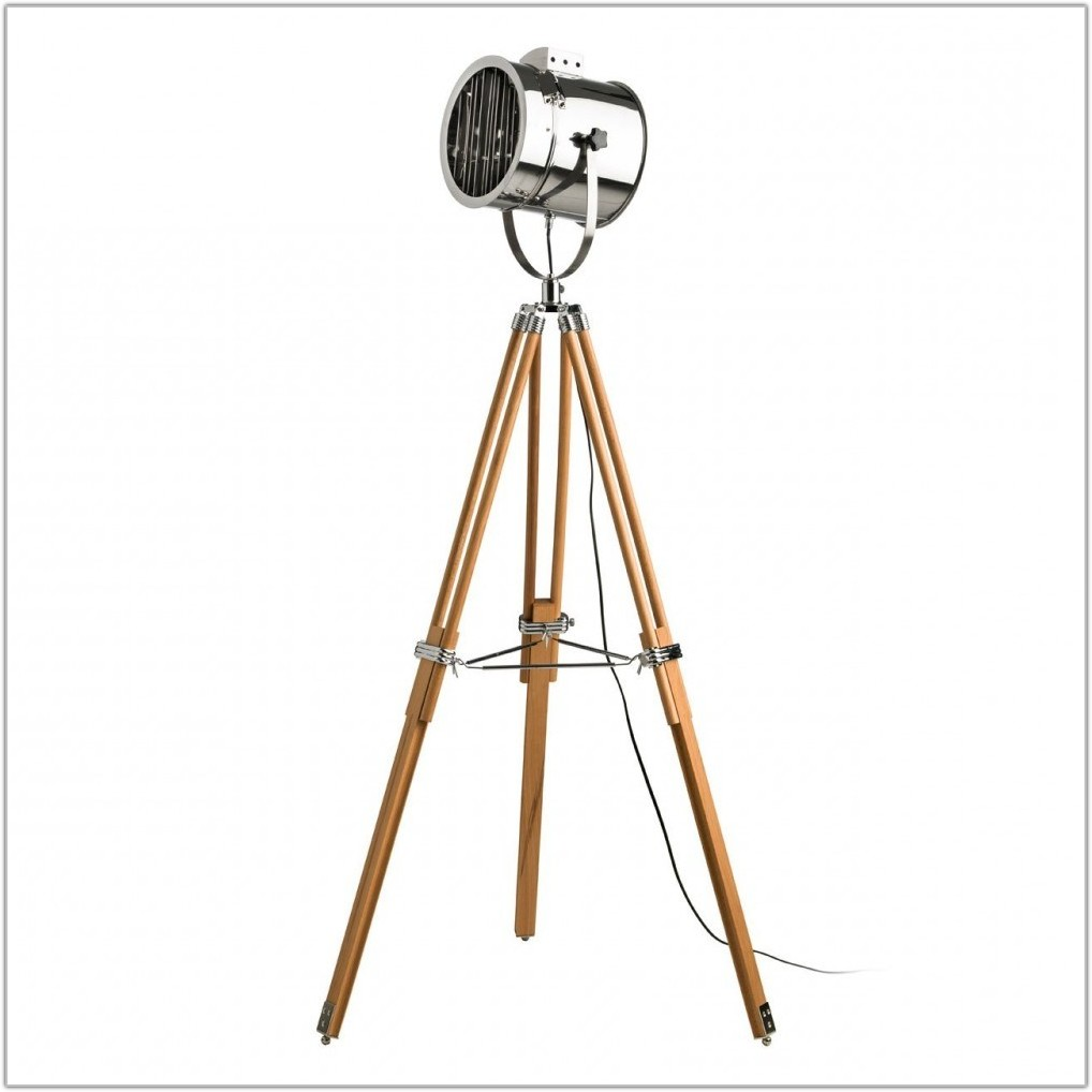 Industrial Style Tripod Floor Lamp