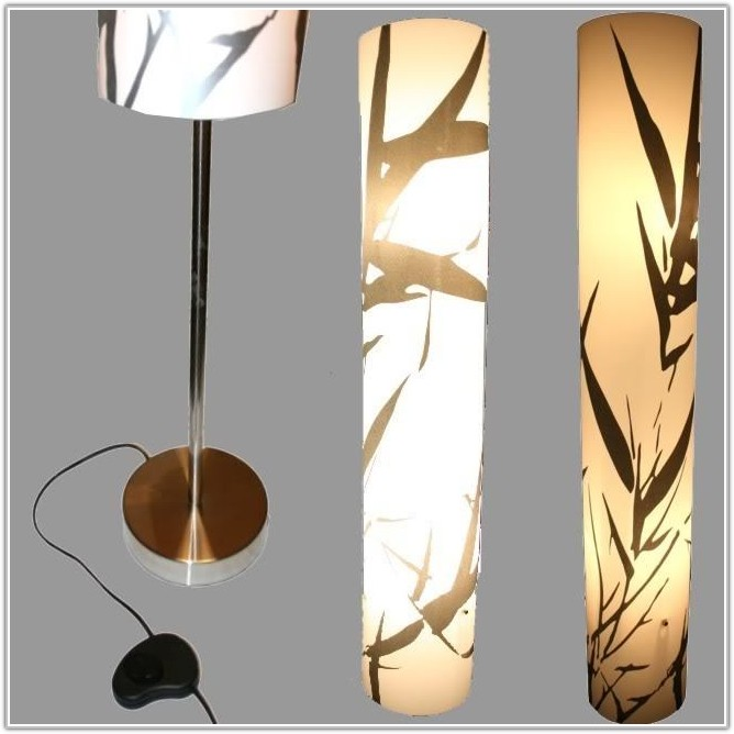 Japanese Lantern Style Floor Lamp