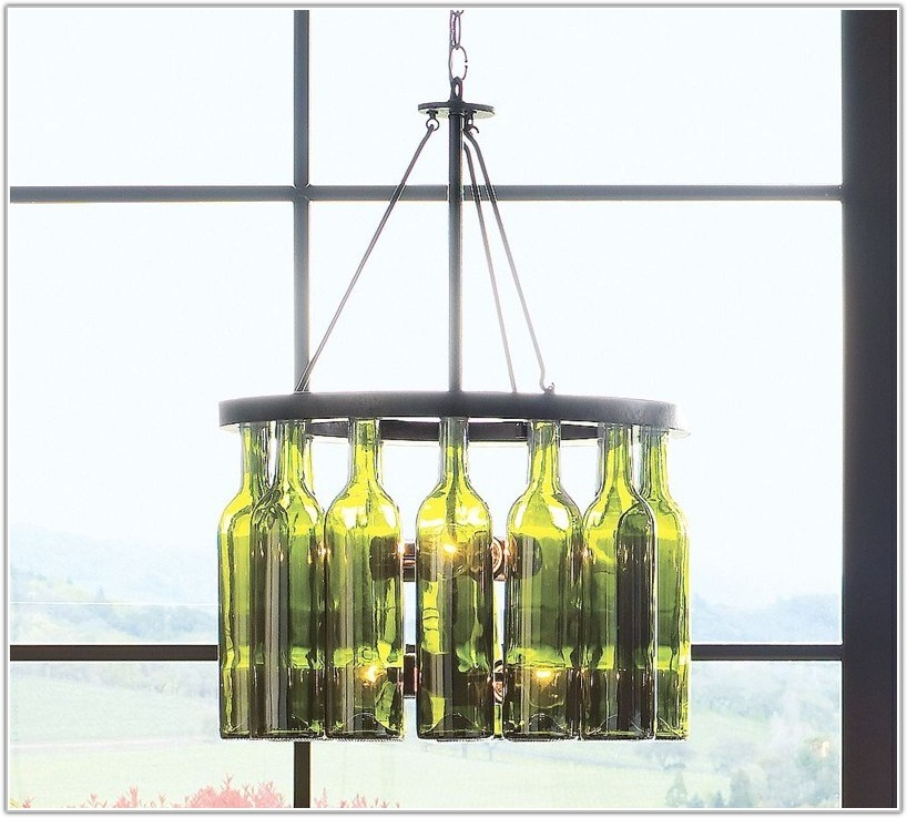 Turn Wine Bottle Into Lamp Lamps Home Decorating Ideas