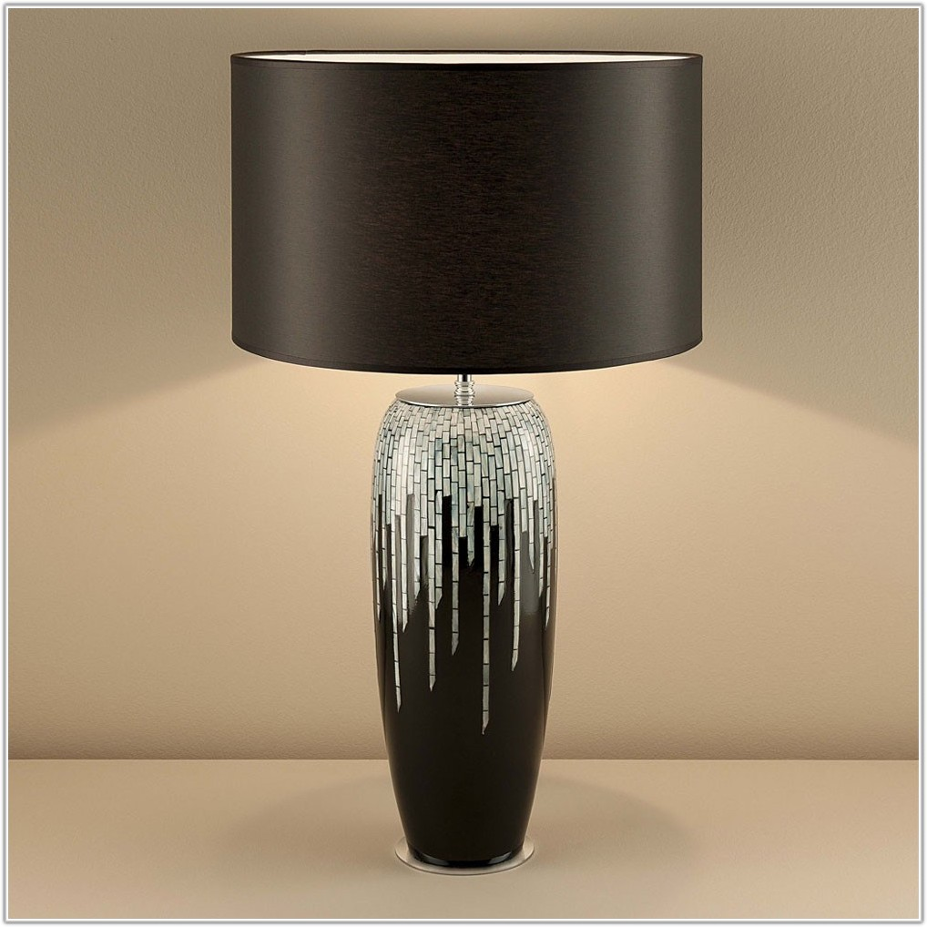 Large Black Table Lamps Uk