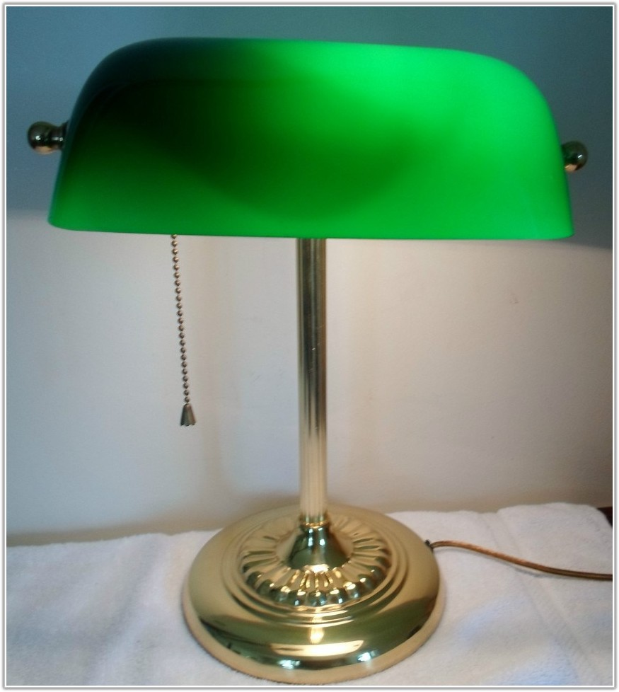 Large Olive Green Lamp Shade
