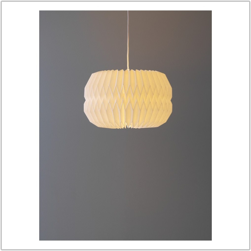 Large White Ceiling Lamp Shade