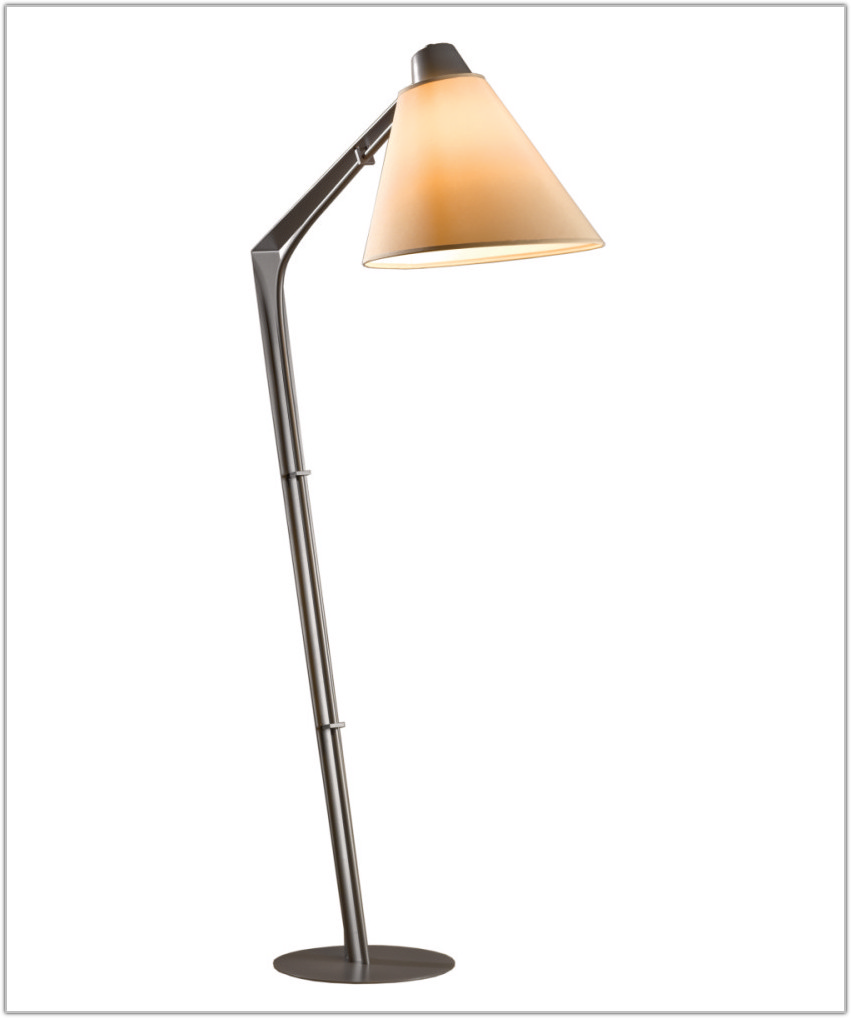 Library Task Floor Lamp Bronze