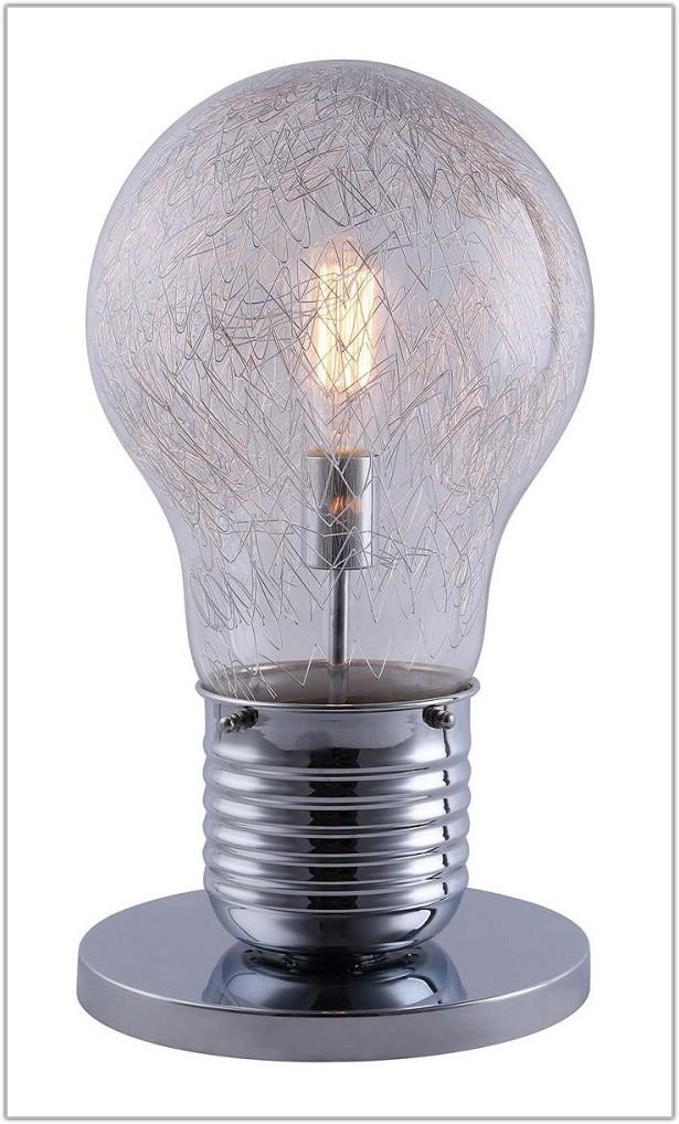Light Bulb Shaped Table Lamp