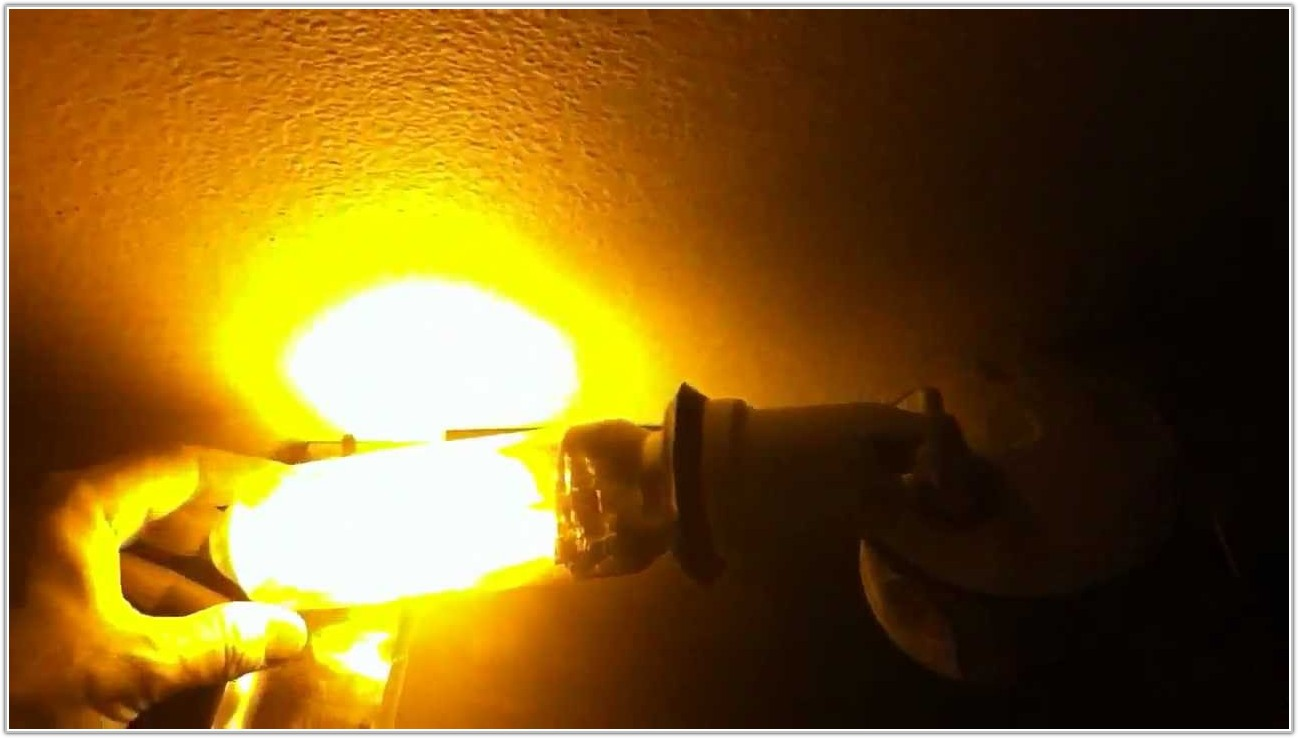 Low Pressure Sodium Lamp Color