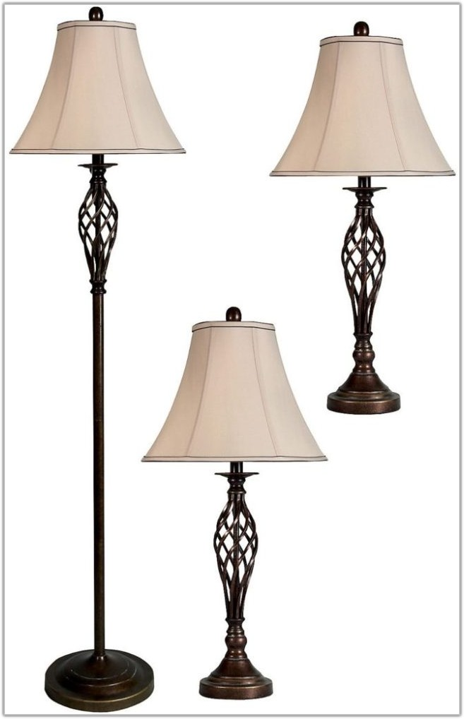 Mainstays 3 Piece Lamp Set