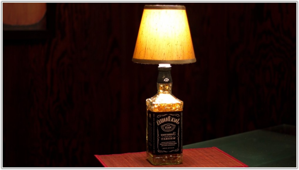 Make A Lamp Out Of A Bottle