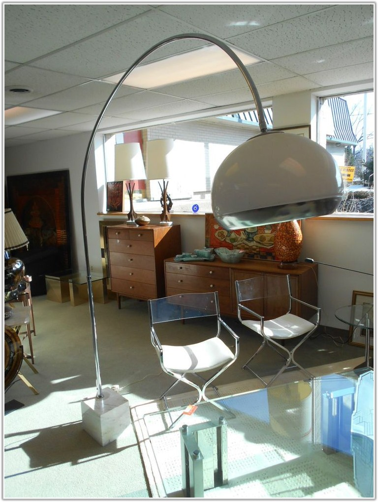 Mid Century Modern Arc Floor Lamps