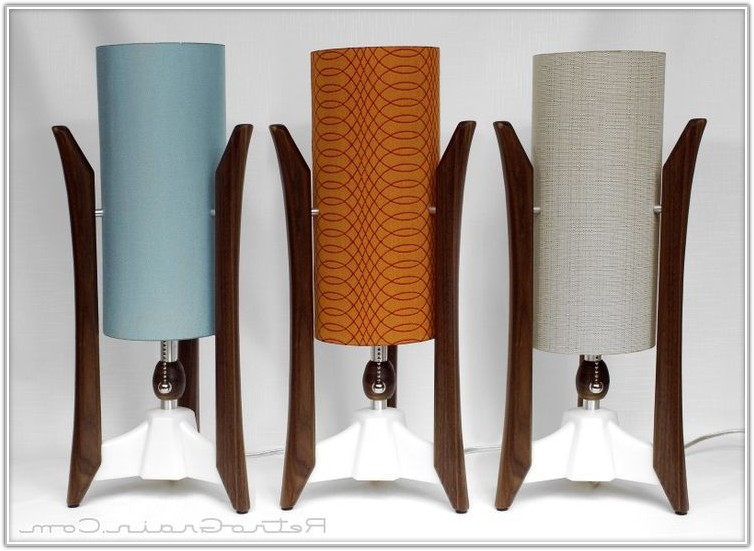 Mid Century Style Table Lamps