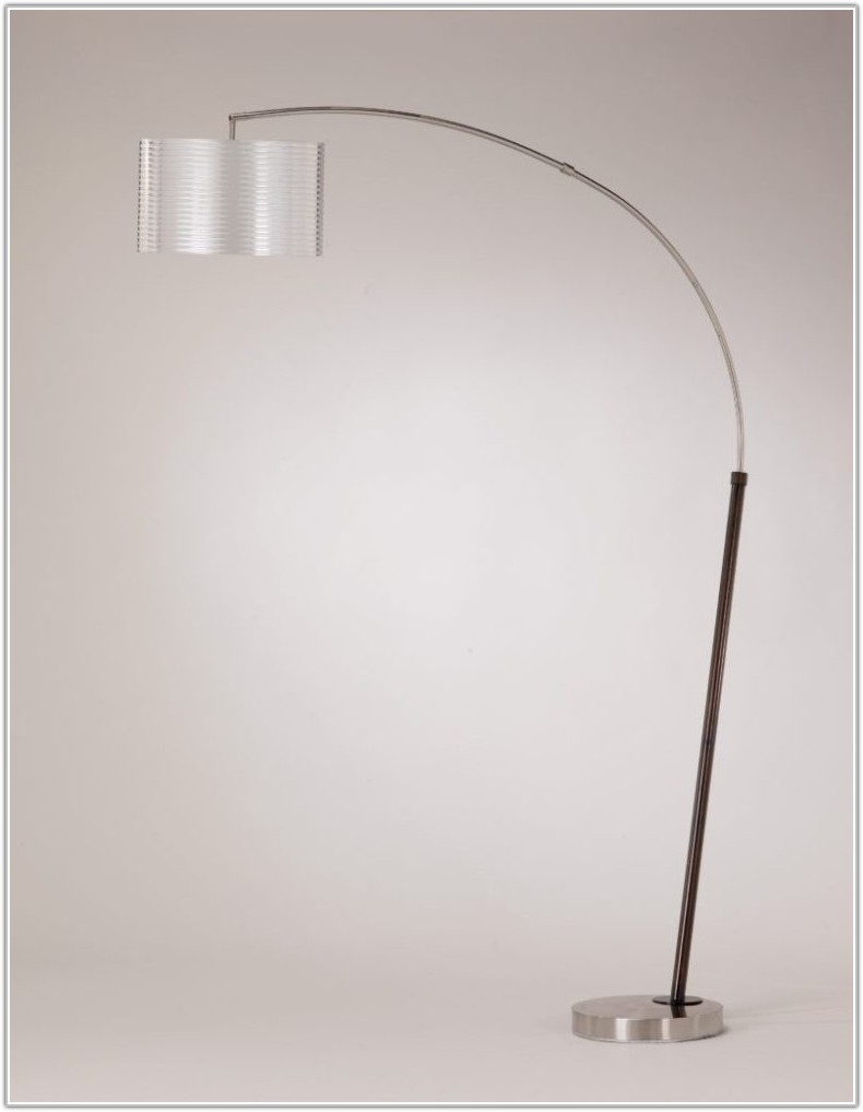 Modern Craftsman Arc Floor Lamp