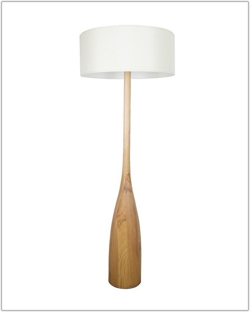 Modern Floor Lamp White Shade