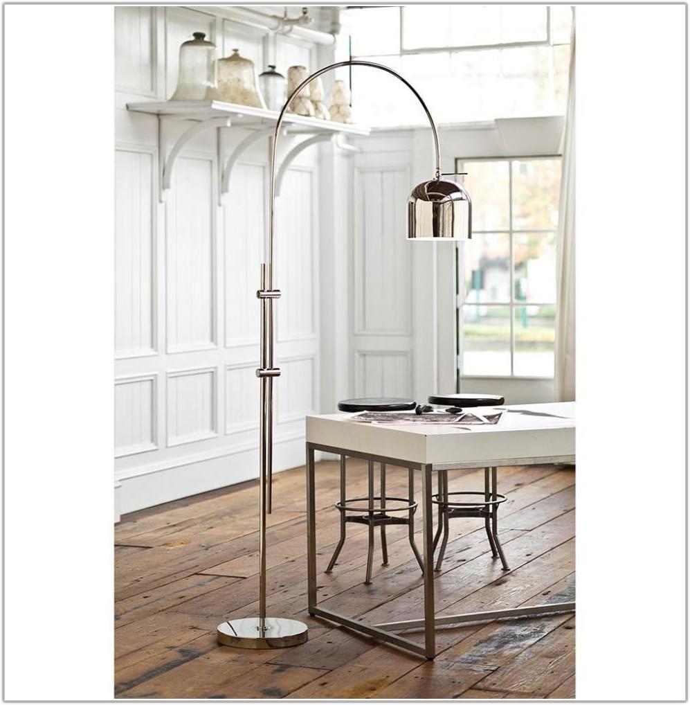 Modern Metal Arc Floor Lamp