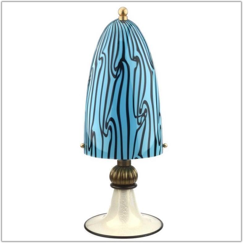 Murano Glass Table Lamp Italy