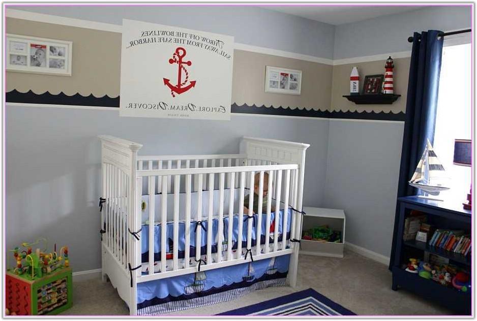 Nautical Table Lamp For Nursery