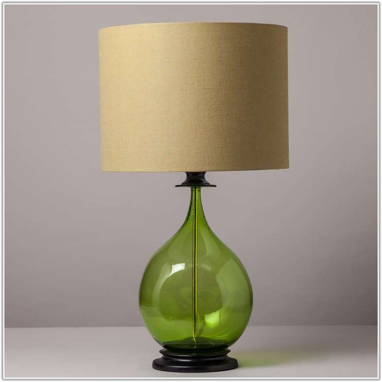 Next Lime Green Table Lamp