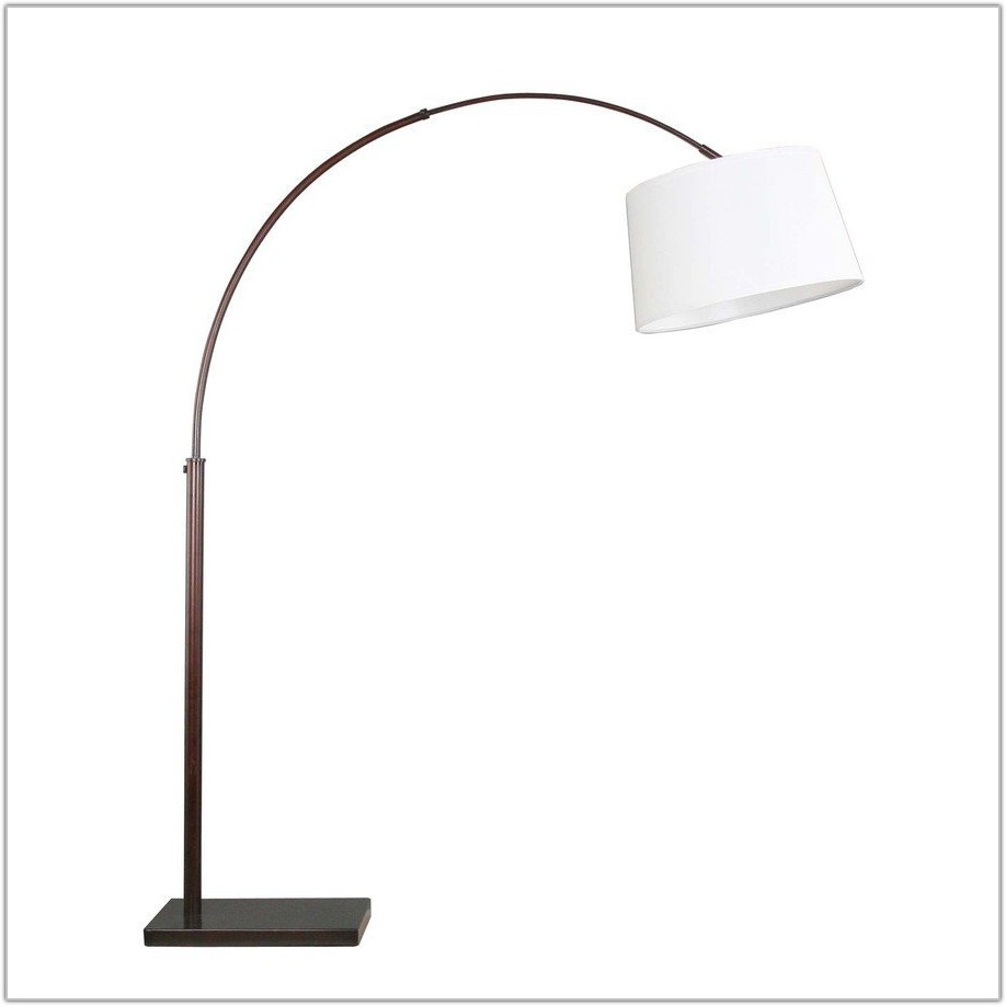Oil Rubbed Bronze Arc Floor Lamp