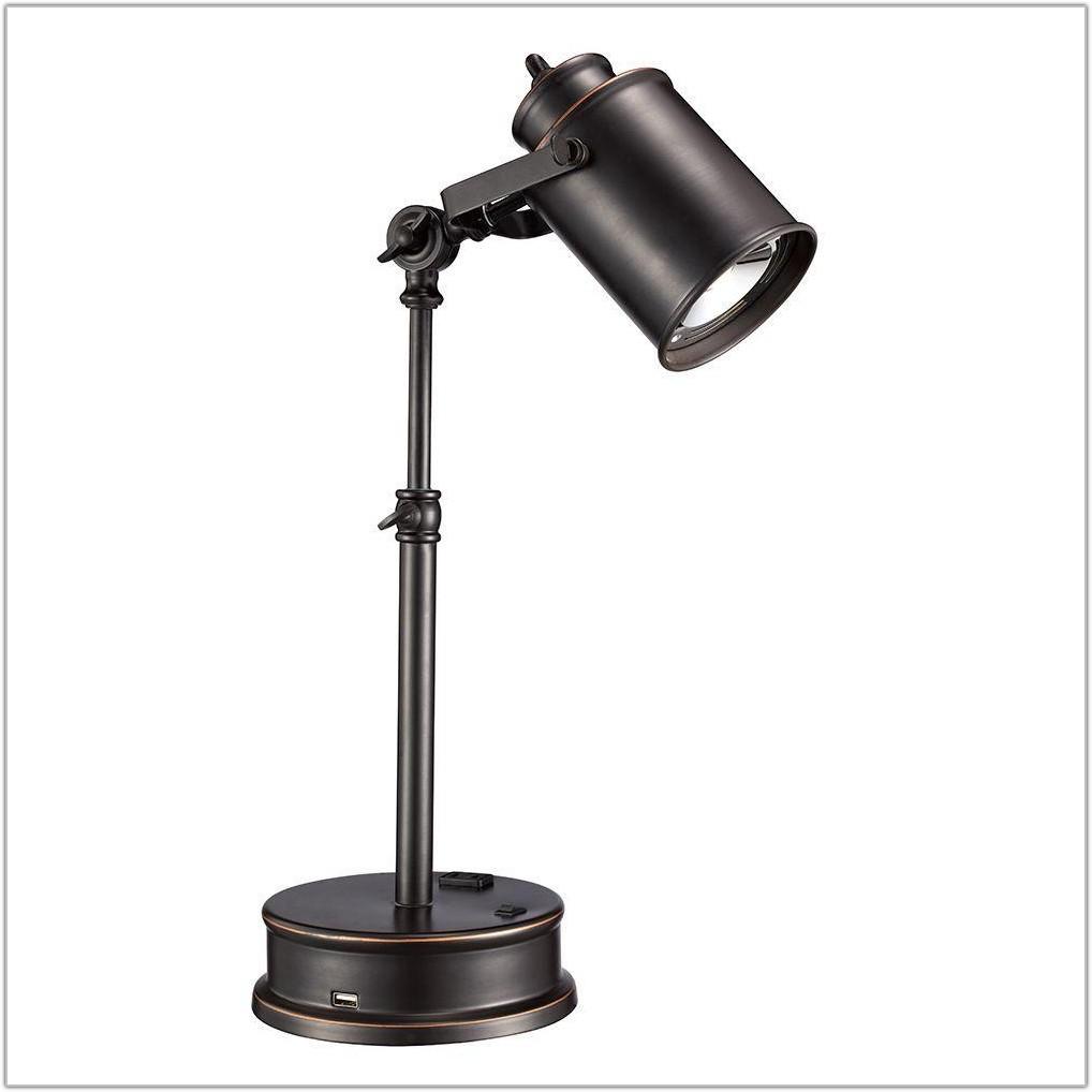 Oil Rubbed Bronze Desk Lamp