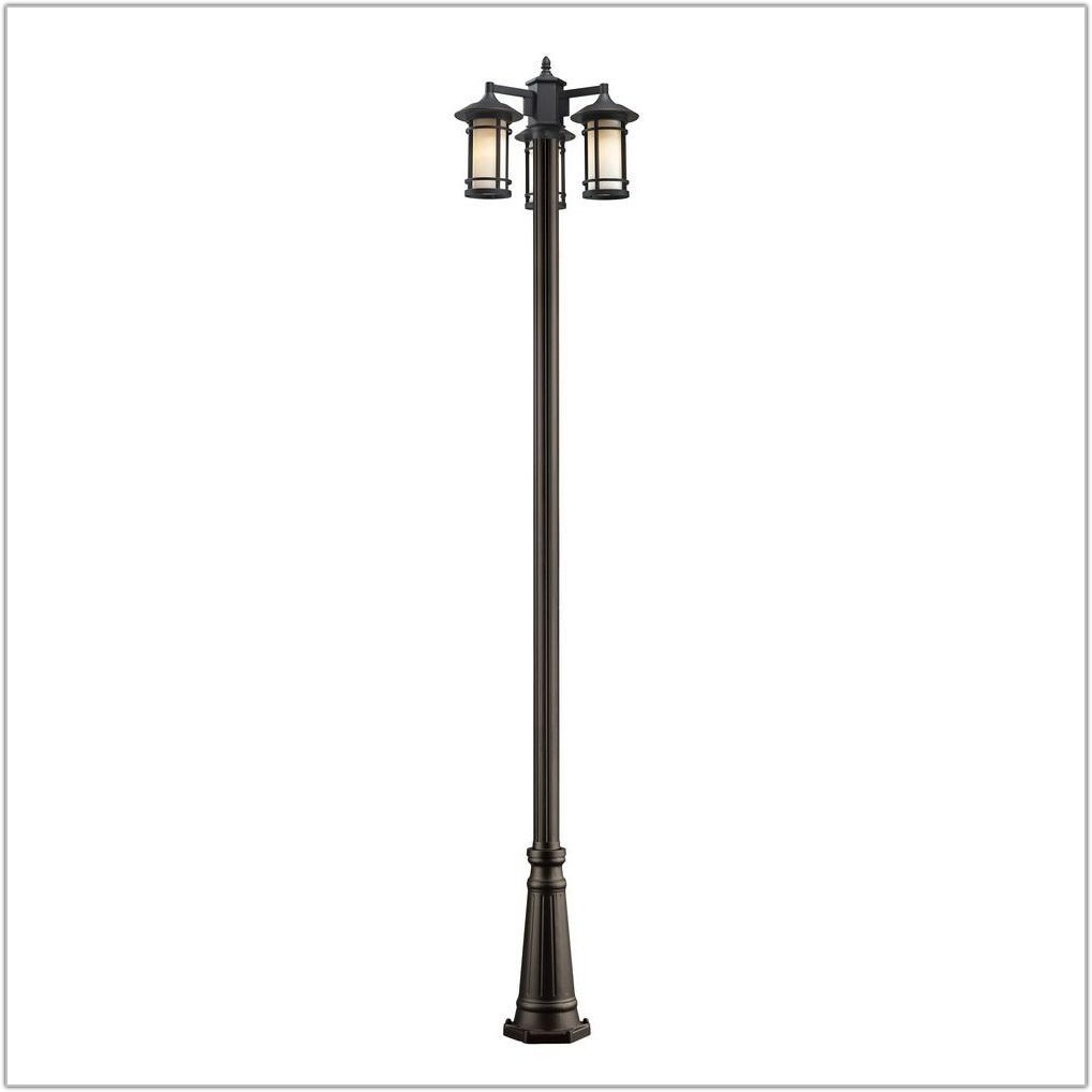 Oil Rubbed Bronze Lamp Post