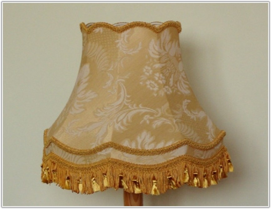Old Fashioned Standard Lamp Shades