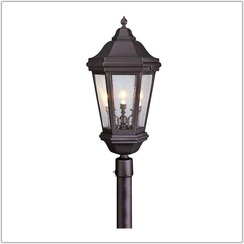Outdoor 5 Light Lamp Post