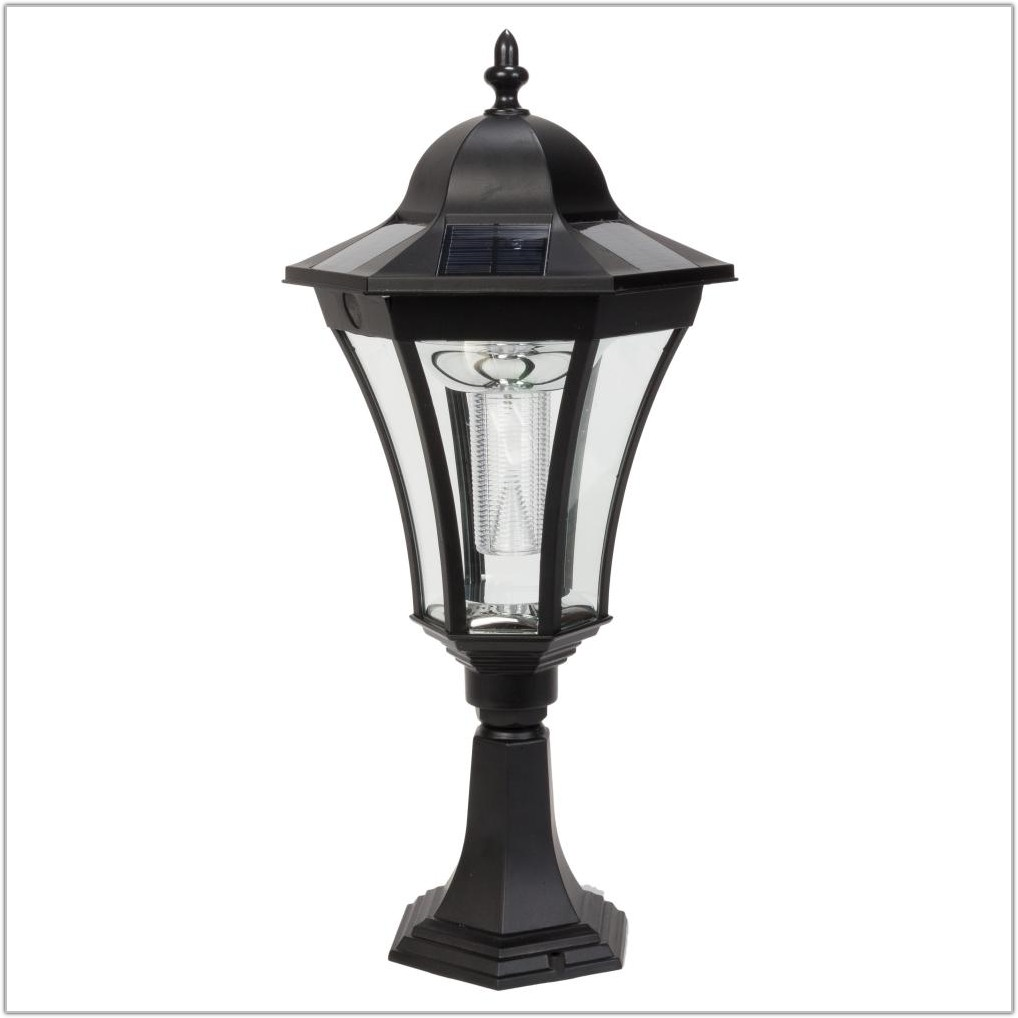 Outdoor Solar Lamp Post Lights