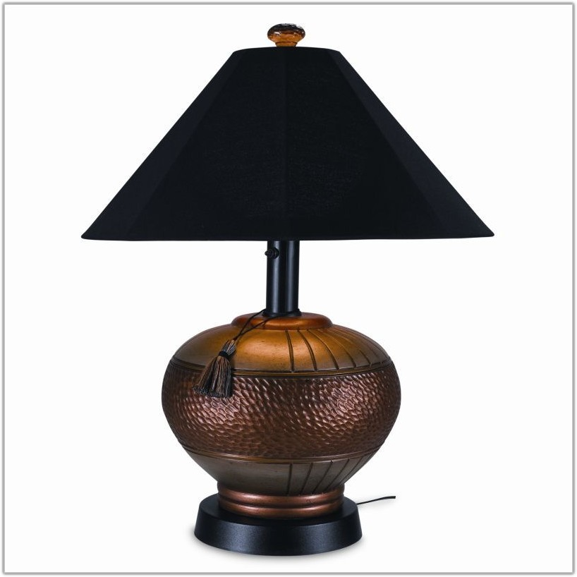 Outdoor Table Lamps For Patio