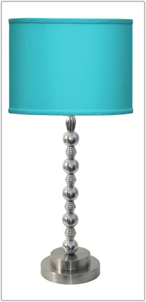 Pale Blue Table Lamp Shades