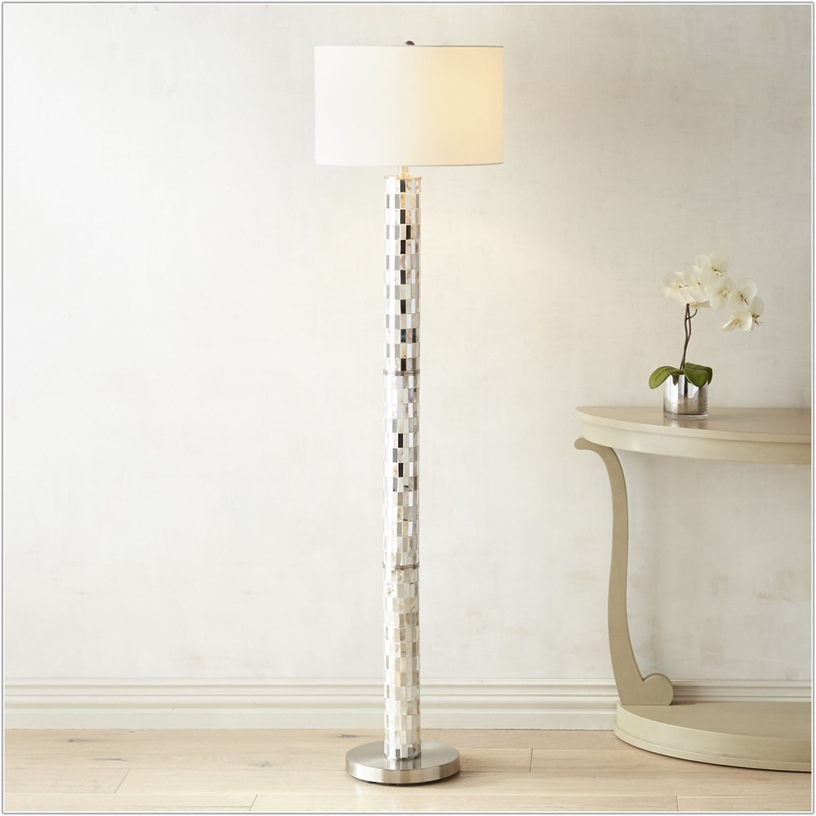 Pier 1 Mother Of Pearl Floor Lamp