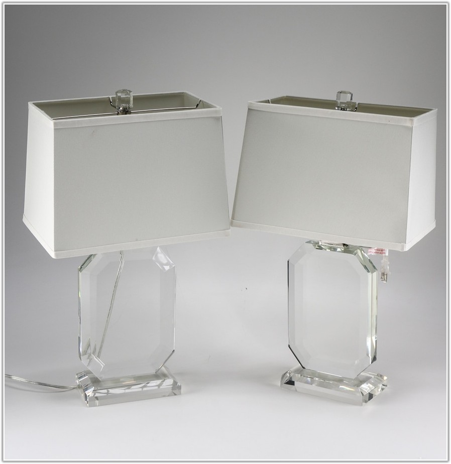 Ralph Lauren Crystal Table Lamps