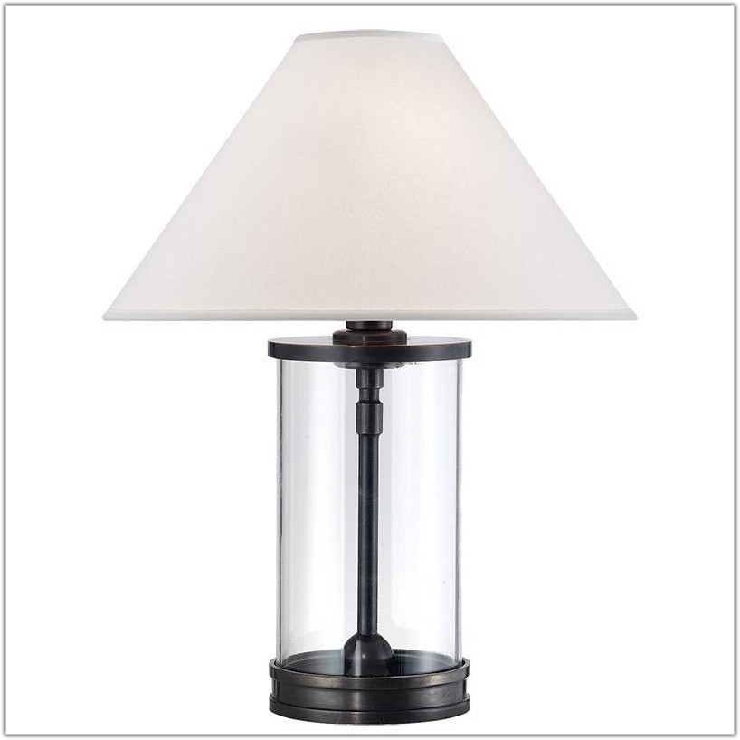 Ralph Lauren Glass Table Lamps
