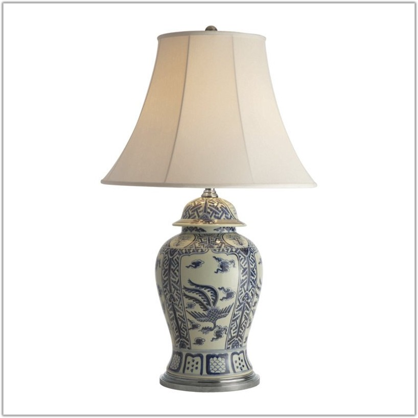 Ralph Lauren Table Lamp Blue
