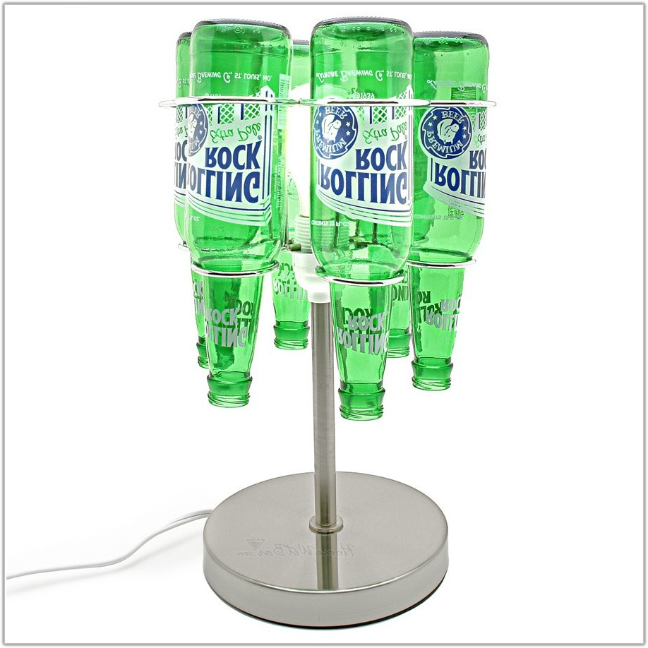Recycled Glass Bottle Table Lamp Kit