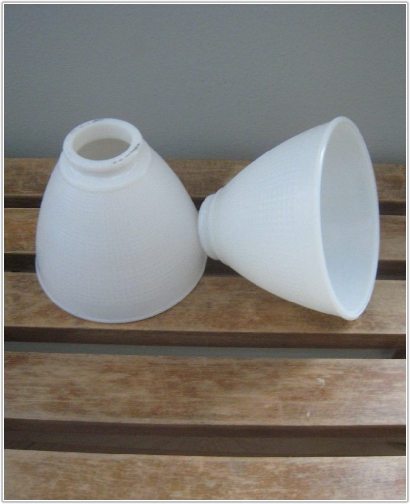 Replacement Small Glass Lamp Shades