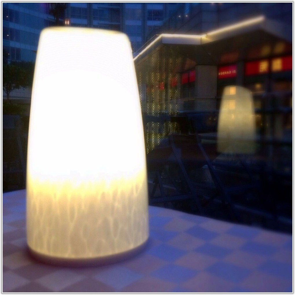 Restaurant Table Lamp Battery Operated