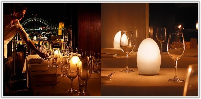 Restaurant Table Lamps Battery Operated