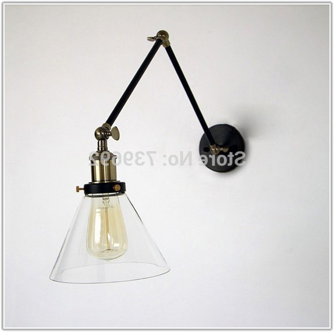 Retro Swing Arm Wall Lamp