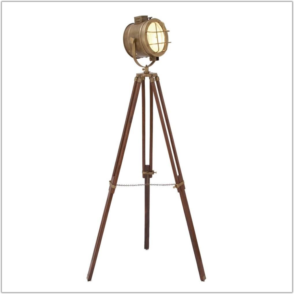 Robert Ogden Industrial Vintage Floor Lamps