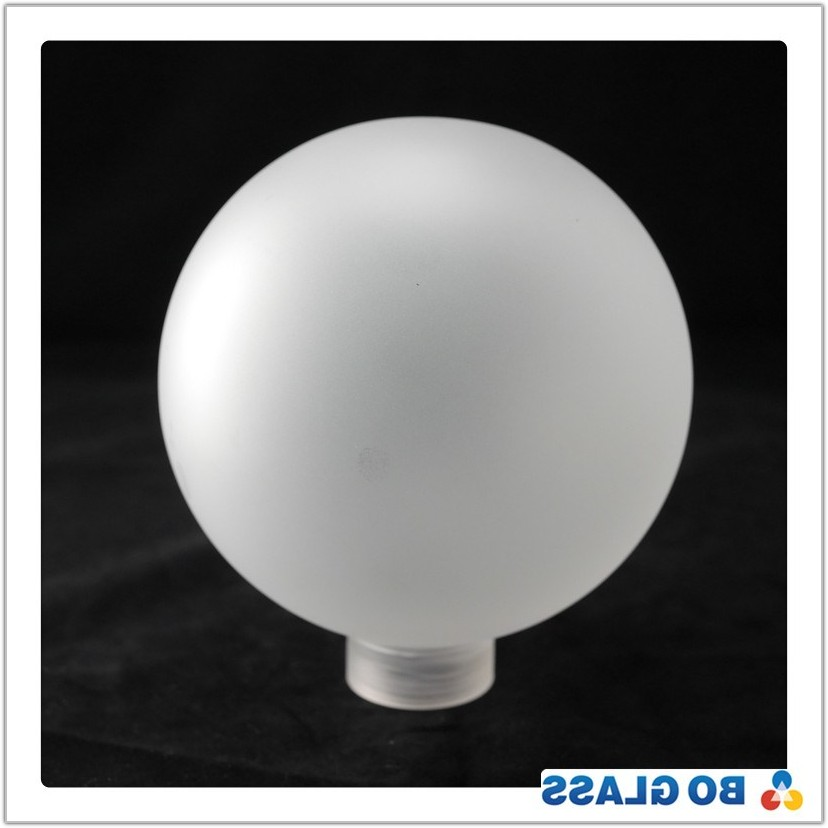 Round Frosted Glass Lamp Shade