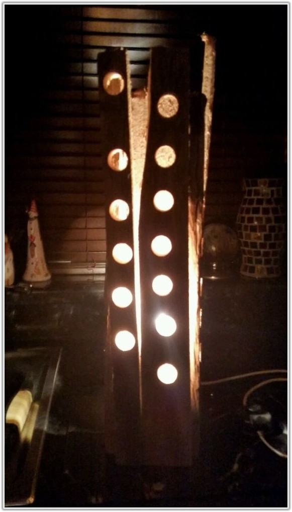 Rustic Wood Floor Lamp Uk