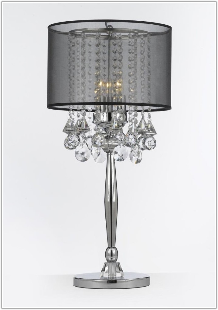Silver Table Lamps Living Room
