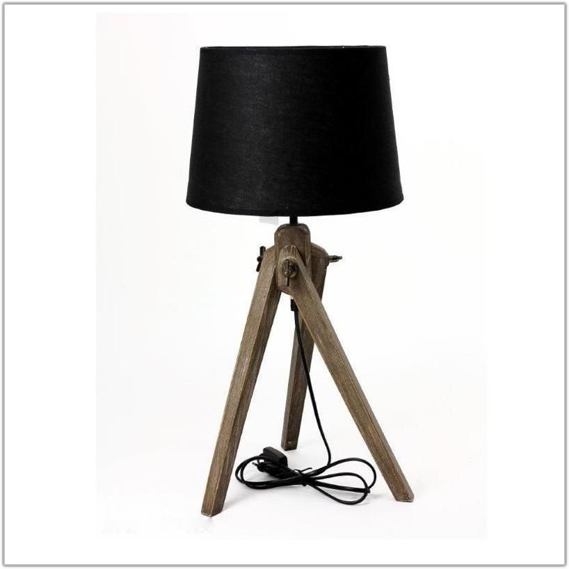 Small Black Linen Lamp Shade