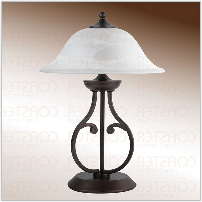 Small Table Lamps With Glass Shades
