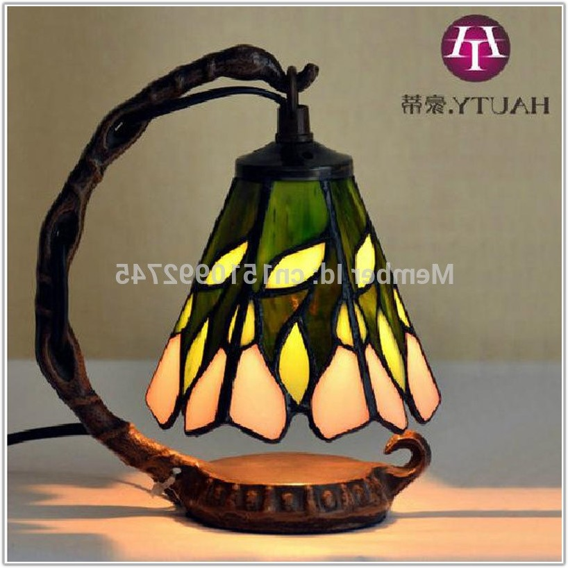 Small Tiffany Style Table Lamps