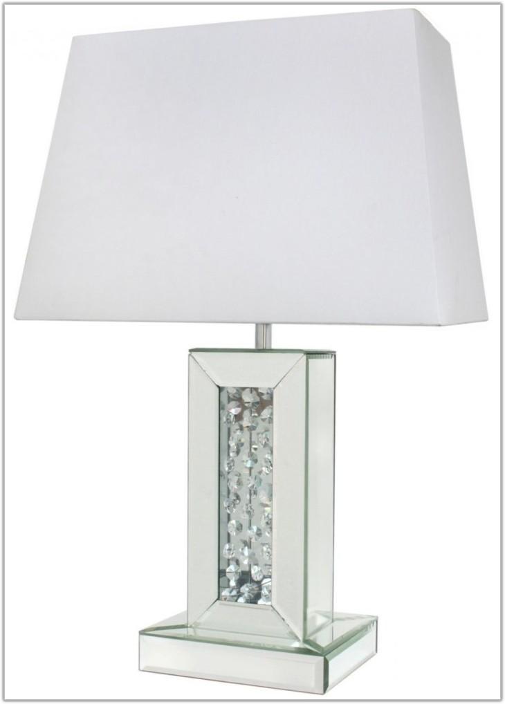 Small White Rectangular Lamp Shade
