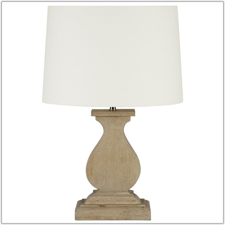 Small White Table Lamp Base