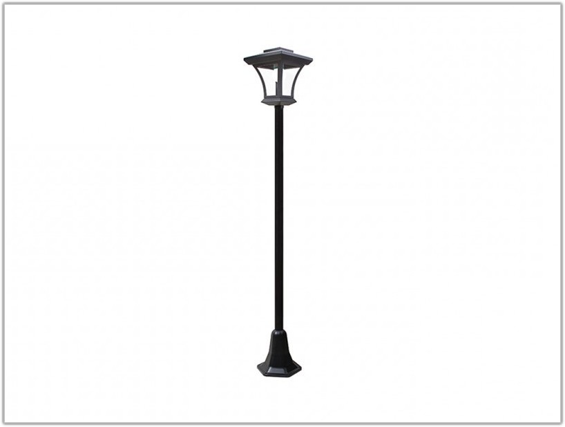 Solar Charged Led Lamp Post