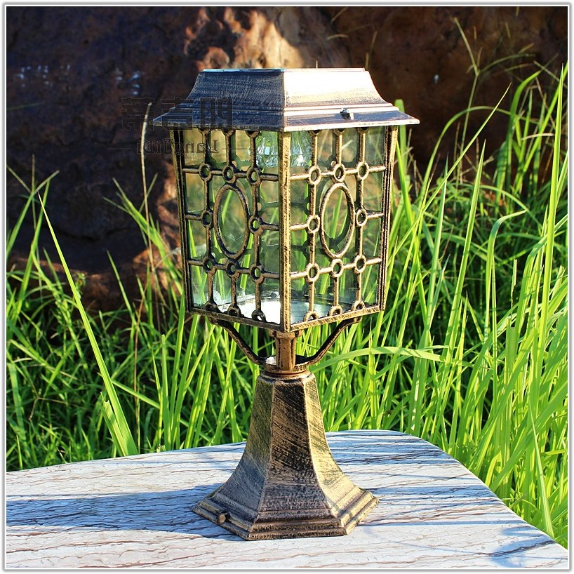 Solar Lamp Post Outdoor Lighting