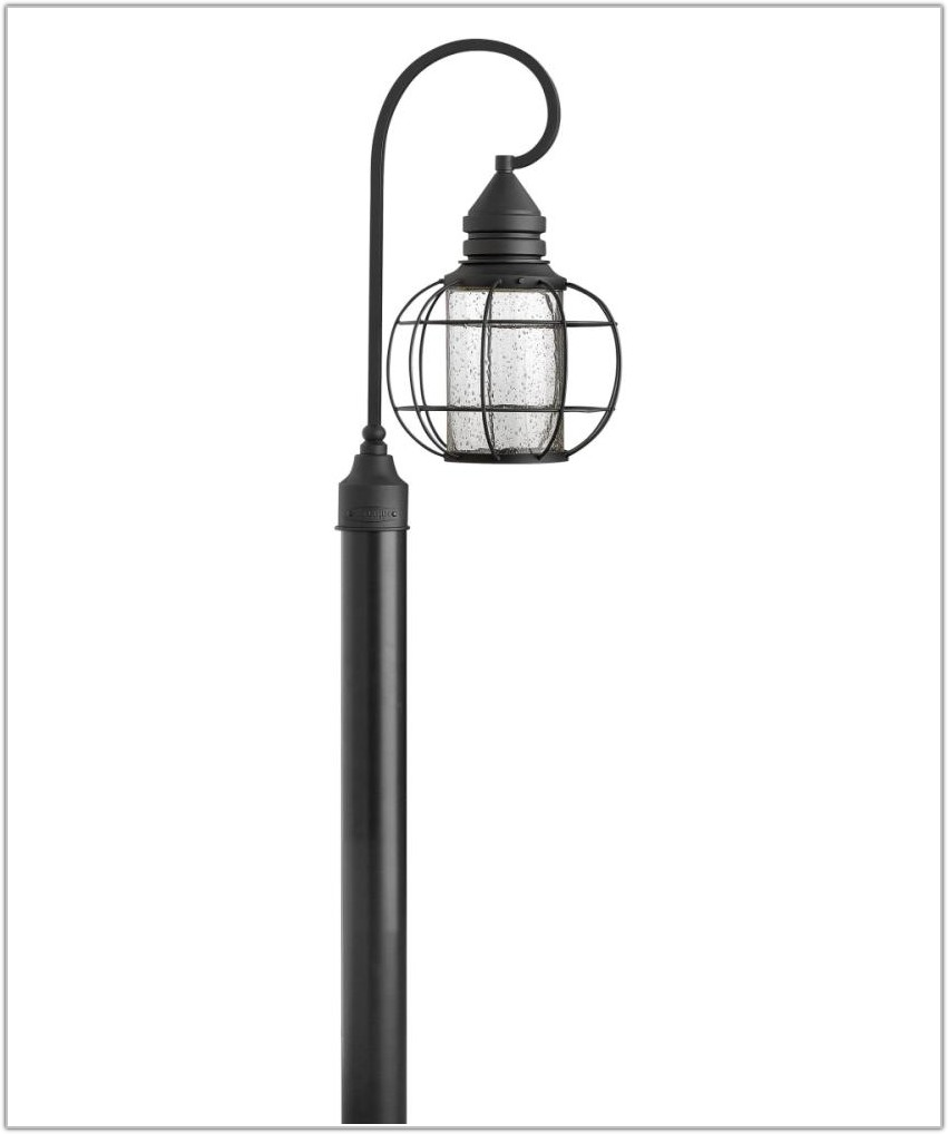 Solar Light Lamp Post Outdoor