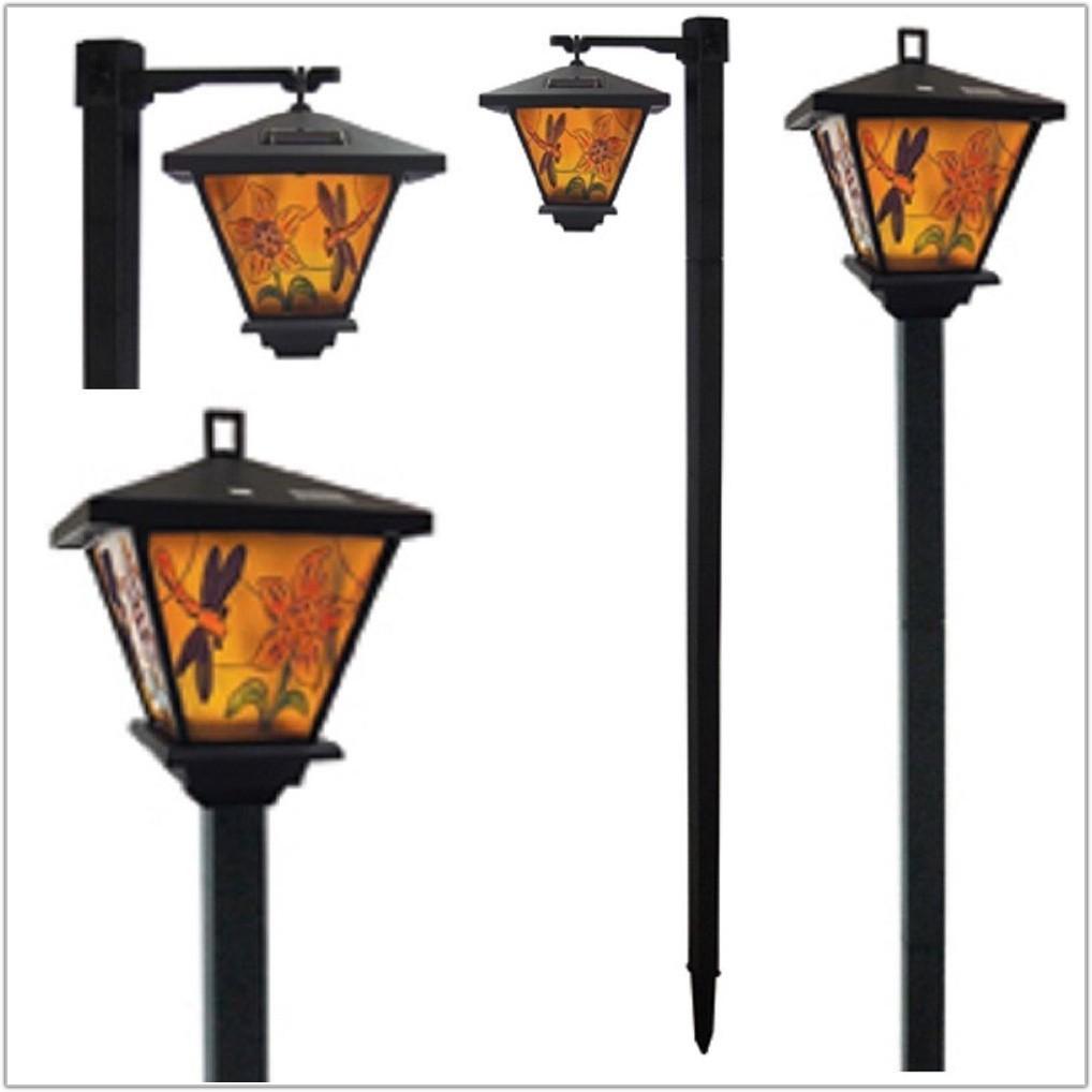 Solar Powered Garden Lamp Post Uk