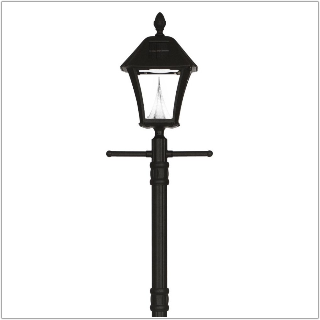 Solar Powered Outdoor Lamp Post Lights